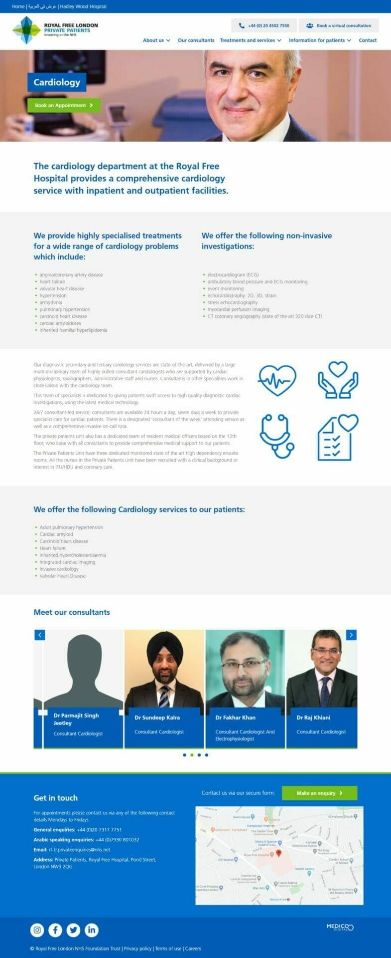 FireShot Capture 560 - Cardiology - Royal Free Private Patients Unit_ - www.royalfreeprivatepatients.com