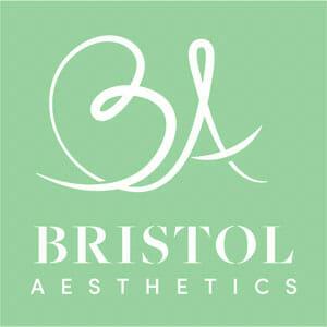 Bristol Aesthetics logo on green background