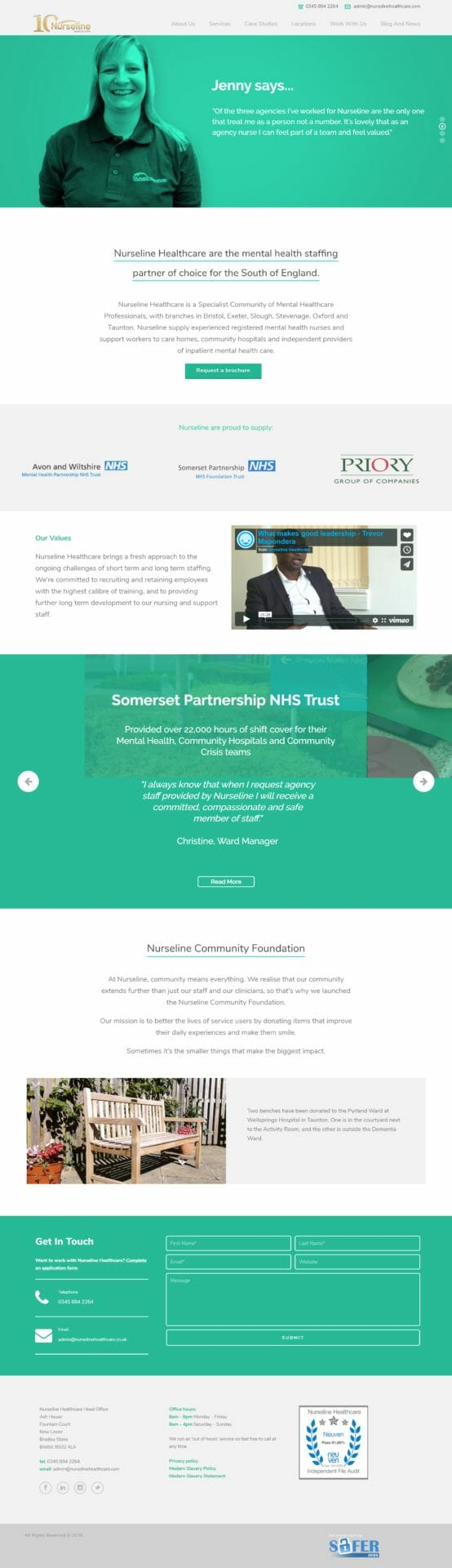 nurselinehealthcare.com